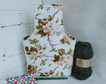 Project bag for knitting, Knitting Bag, Knitting project bag, Yarn storage bag, Sock project bag, Crochet project bag, Yarn project Bag