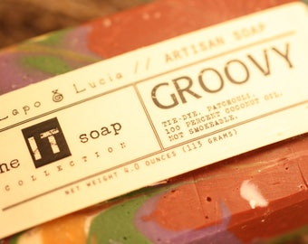 Groovy | the IT soap | Artisan Soap | Handmade Soap
