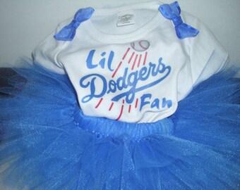 Birthday Team Themed Shirt or Onesie and Tutu Skirt
