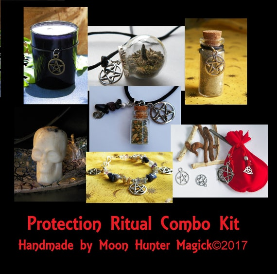Protection Combo Kit Protection Ritual Kit