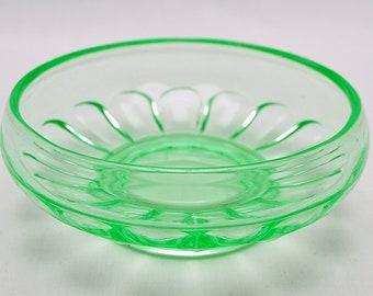 Bagley Uranium Art Deco Small Bowl