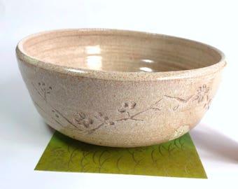 Unique Japanese Pink sakura traditional bowl