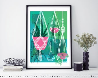 House of Plants Print