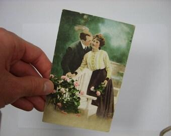 Kiss Erotic postcard
