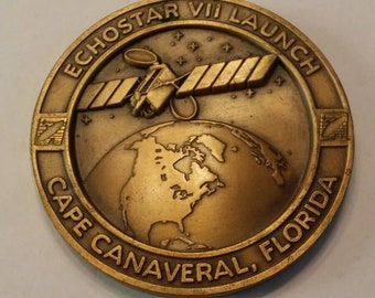 Echostar VII Launch Medallion Cape Canaveral Florida AC-204