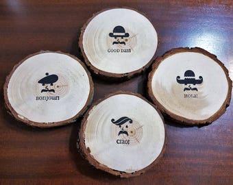 International Greetings Coasters Set of 4