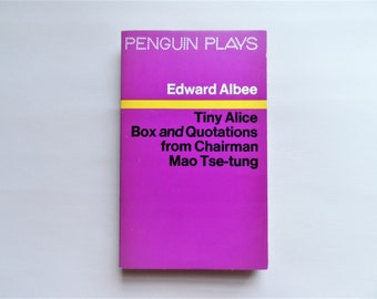Edward Albee - Penguin Plays - 1971 - Paperback book - Second hand books