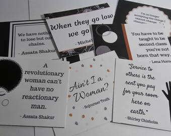 Ain't I A Woman?:  Set of 6 Quote Cards