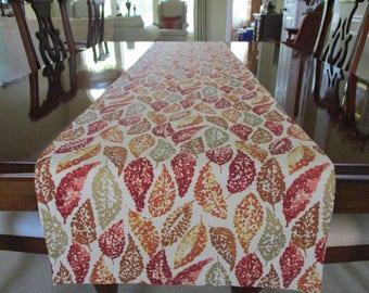 Fall Table Runner-Thanksgiving Table-Tabletop Runner-Autumn Table-Fall Home Decor-Table Decor-Thanksgiving Runner-Fall Decorations