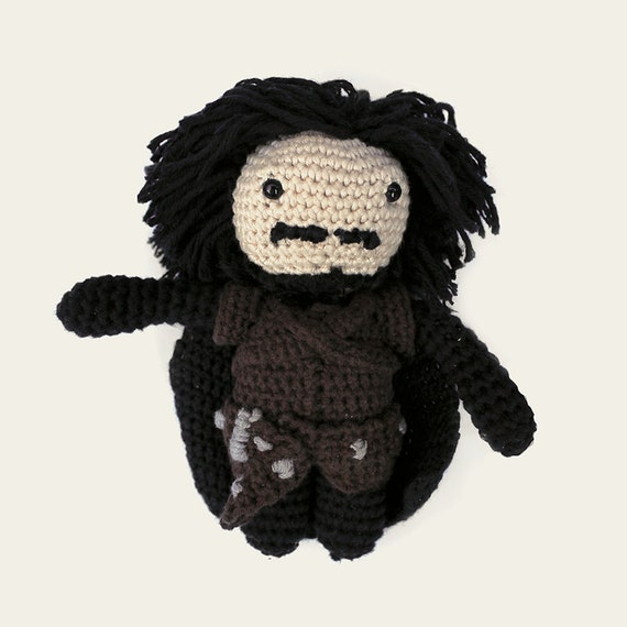Jon Snow - Game of Thrones. Amigurumi Pattern PDF.