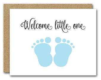 PRINTABLE New Baby Card, Congratulations Baby Card, Baby Shower Card, New  Mom Card