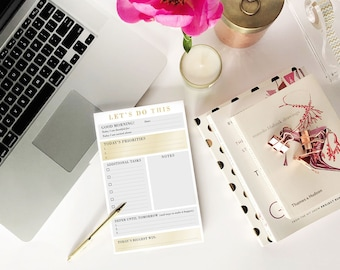 Let's Do This - Productivity Notepad