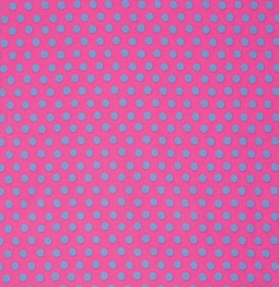 SPOT SHOCKING PINK  GP070 by Kaffe Fassett  Sold in 1/2 yd increments