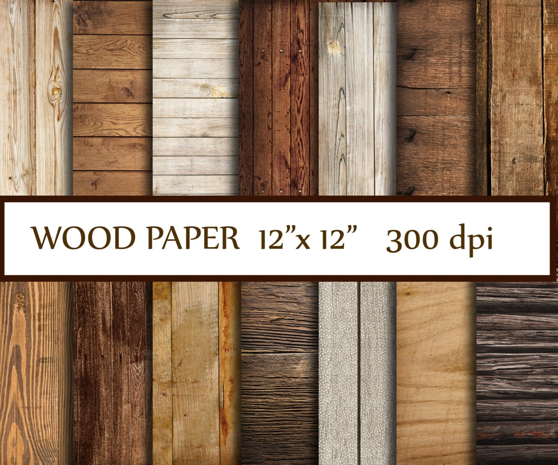 Wood Digital Paper Quot Wood Paper Quot Wood Backdrop Printable Wood Digital Background Wood Scrapbook