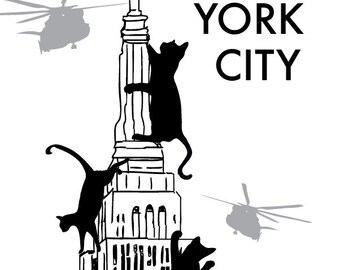 Mew York City Print - New York City Art Print