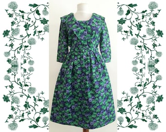 1950's Vintage Deadstock NOS Cotton Day Dress