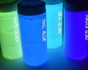 Glow in the Dark Luminescent Powder Crystals
