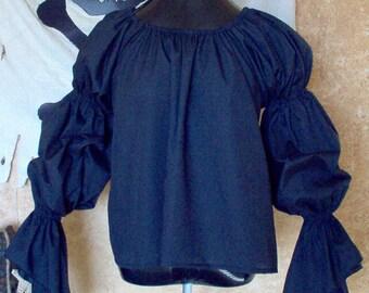 Black Renaissance Chemise Other Colors Available