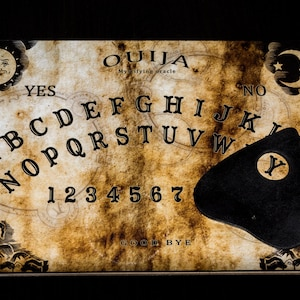 how to make ouija board planchette