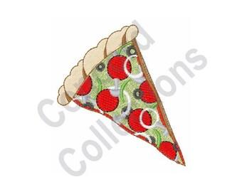 Pizza Slice - Machine Embroidery Design
