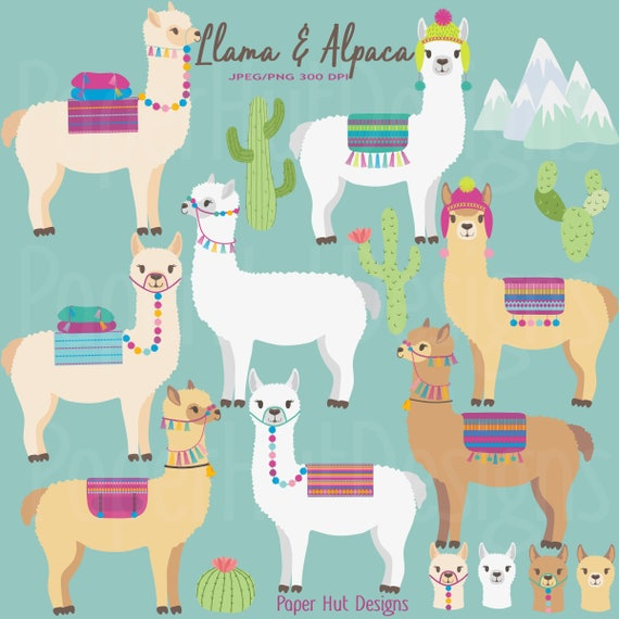 llama clipart alpaca clipart llama clip art alpaca clip rh etsy com llama clipart gif llama clip art free