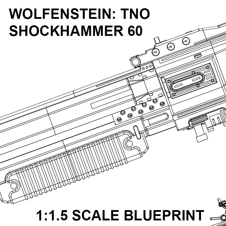 Wolfenstein the new order assault shotgun shockhammer blueprint malvernweather Choice Image