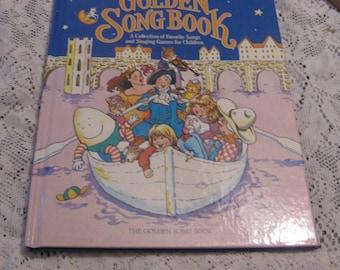 1981 The Golden Songbook - Children's  Hardcover Book