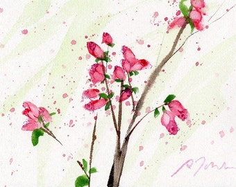 Fresh Pick No.285, limited edition of 50 fine art giclee prints from my original watercolor