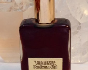 Revlon, Ultima Perfume Oil, 30 ml. or 1 oz. Flacon, Pure Perfumed Oil, 1961, New York, NY ..