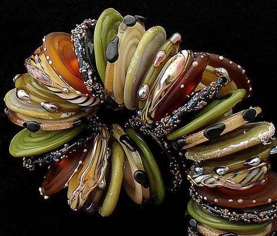 Lampwork Beads Handmade Lampwork Jewelry Sets African Beads For Jewelry Supplies Craft Supplies Bead Discs Animal Beads Debbie Sanders