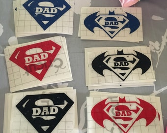 Ready to ship!! Super Dad/ Fathers Day/ Yeti Decal/ Yeti Tumbler Decal/ RTIC Decal/ RTIC Tumbler Decal/ Custom Decal/ Decal