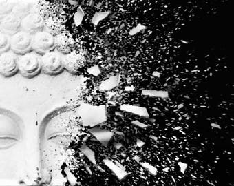 modern art- Buddha pieces