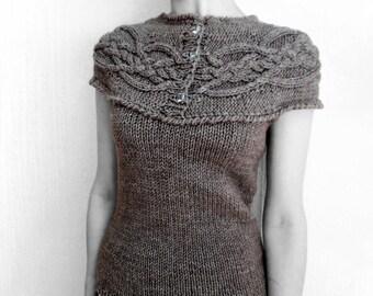 Designer Aran Vest by LikeCreamKitty