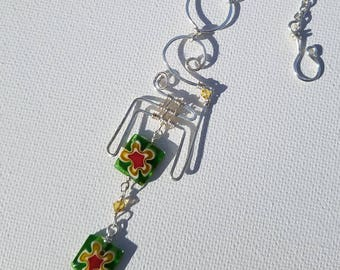 Funky Wild Wire Art Necklace