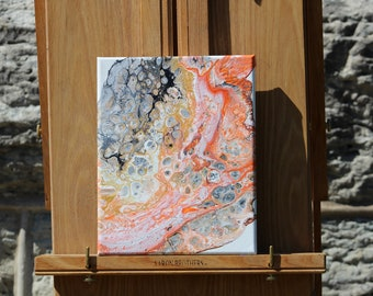 Abstract Acrylic Flow Painting - Sunny Day