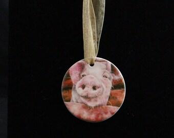 Ceramic Ornament - Pig