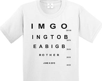 Big Brother Shirt, big brother gift, big brother t shirt, gifts for brother, big brother announcement shirt