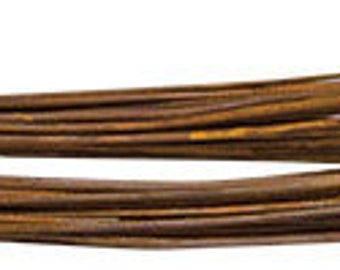 18 Gauge Rusty Wire 34 feet, Rust Colored Wire, Primitive and Rustic Craft Supplies