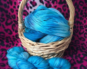 handdyed sock yarn 4 ply