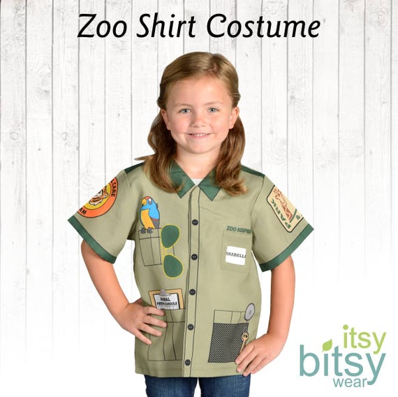 sc 1 st  Etsy & Zoo Keeper Costume Kids Halloween Costume Personalized Career