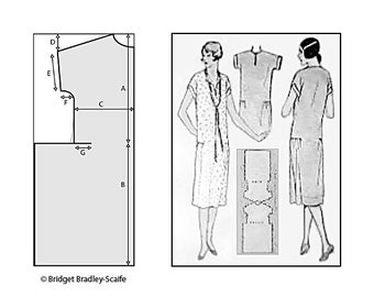 1920's One Hour Frock Pattern *UPDATED*
