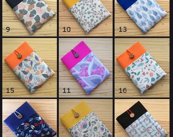 Padded sleeve,Kindle Cover, kindle case, Kindle Sleeve, kindle paperwhite, Kindle Voyage, ipad case, all brands, all models, kobo