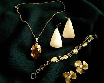 Jewelry Lot: Amber Waves