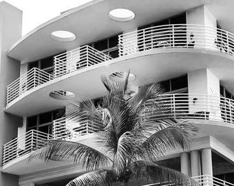 "South Beach, Miami Photography, Art Deco Wall Art, South Beach Hotel, Miami Beach Art, Florida Print, South Beach Print - ""Miami Deco"""