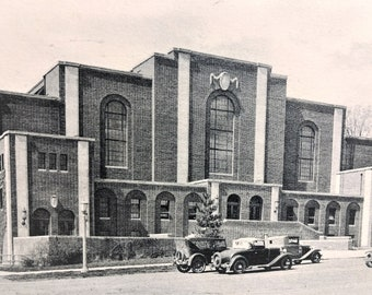 Vintage Postcard Penn State College Recreation Hall 1934 State College Pa