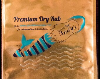 Ship - Good Time Andy's Premium Dry Rub 16oz bag
