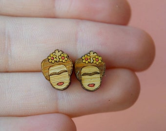 Frida Bamboo Earrings