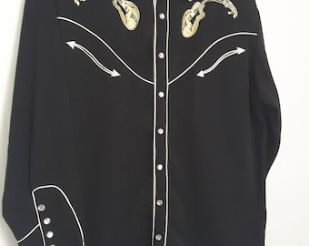 Vintage MEN'S Western Shirt