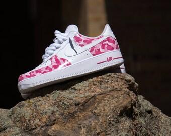 Custom Camo Sneakers