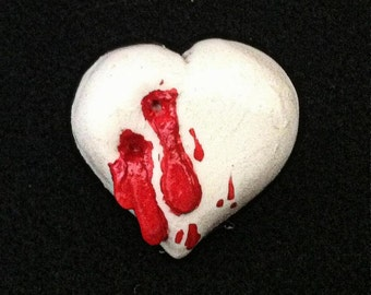 Vampire Bite Horror Heart